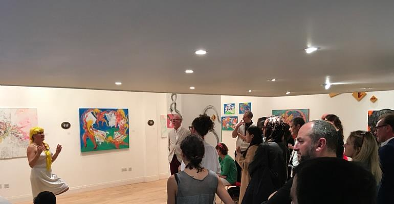 The Meat-Grinder Madrigal In Focus At Sulger Buel Lovell Gallery