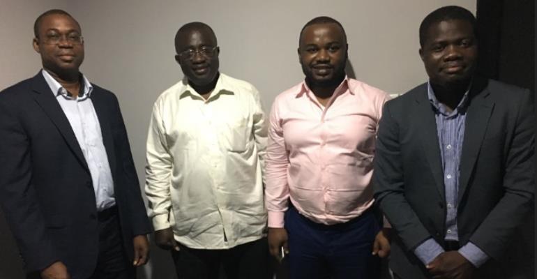 Diaspora Mining Expert Team Meets Dr. Toni Aubynn On Galamsey Regularization Strategy