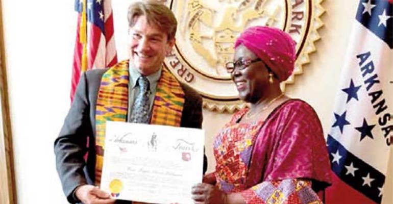 Local Government Minister Alima Mahama Honoured In USA