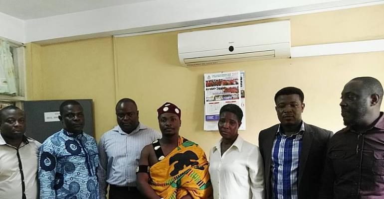 Greater Accra Wrestling Association (GAWA) Executive Sworn Into Office
