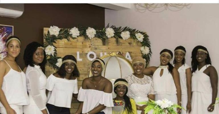 Photos: Stonebwoy's wife-to-be's bridal shower