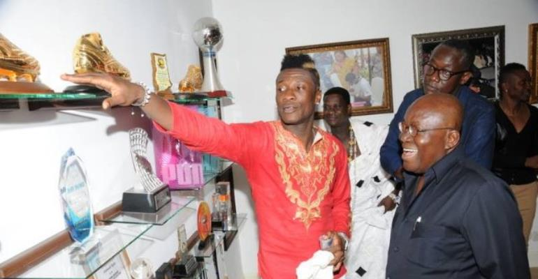 Asamoah Gyan to be honoured with Doctorate degree
