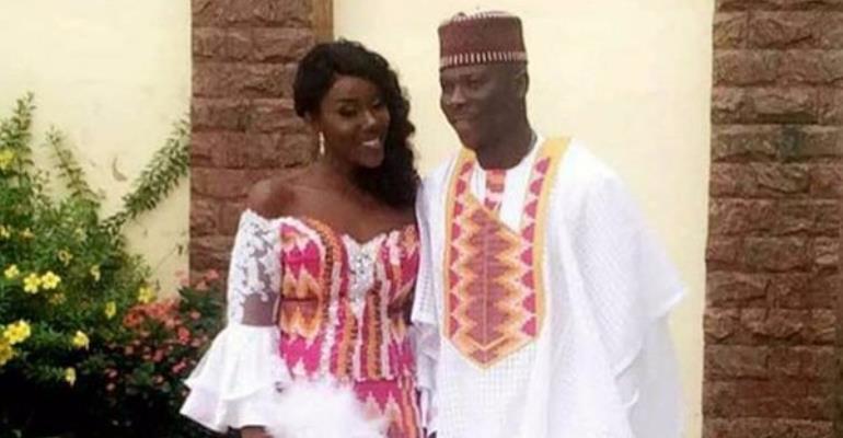 First photos: Stonebwoy marries Louisa