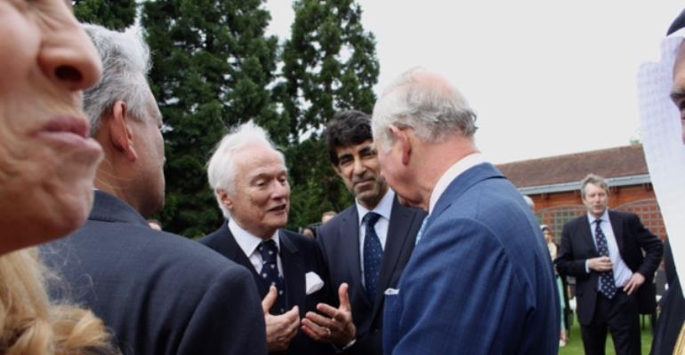 Dr. Hanif Hassan Ali Al Qassim Chairman Of The Geneva Centre On Human Rights And Its Executive Director Ambassador Idriss Jazairy Meet With Prince Charles, The Prince Of Wales