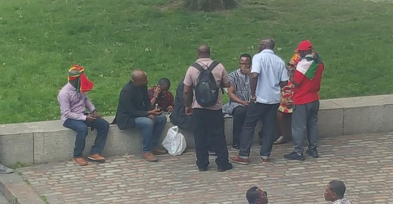 Photos: NDC UK Demo Against Nana Addo Flops In London