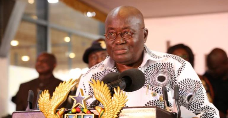 Fight against corruption has to be won - Akufo-Addo