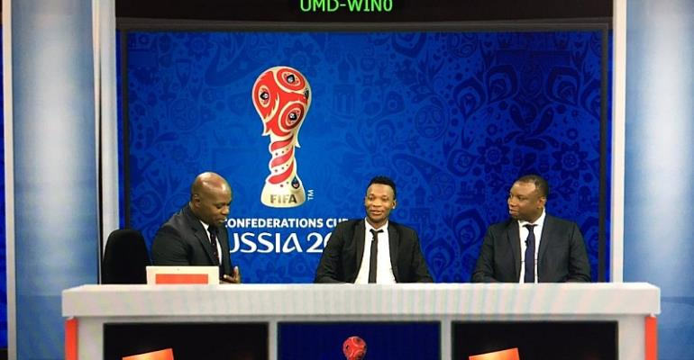 FIFA CONFEDERATION CUP: Former Ghana international John Paintsil begins punditry job on Kwese Sports