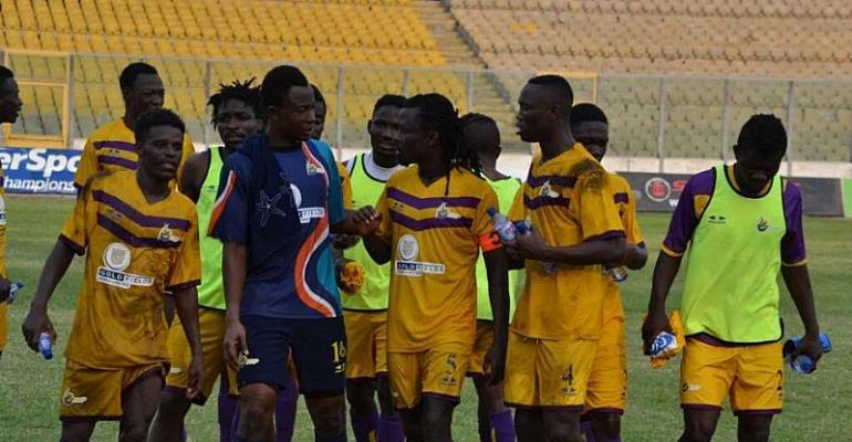 MTN FA Cup: Medeama 1-0 Elmina Sharks- Two-time champions march on to next stage