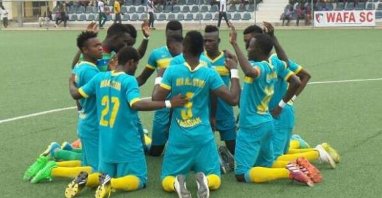 MTN FA Cup: FC Samartex 1-2 Wa All Stars- Kelvin Andoh's last-ditch shot secures progression