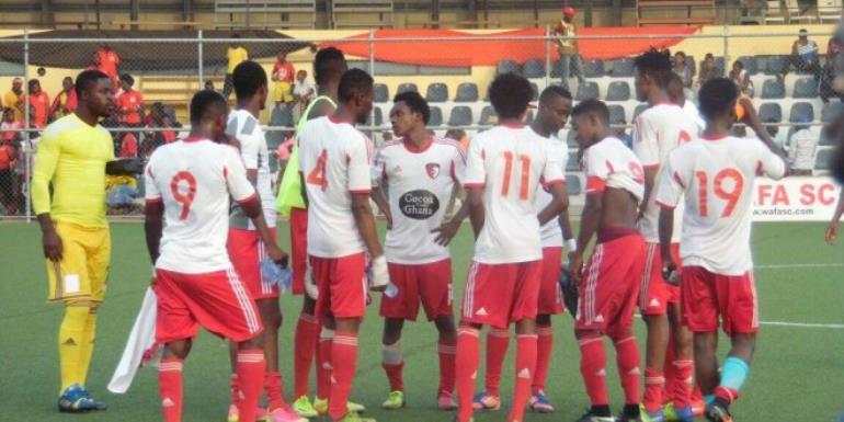 MTN FA Cup: Amidaus Pros. 1-0 WAFA- High flying WAFA bundled out by in-form Amidaus