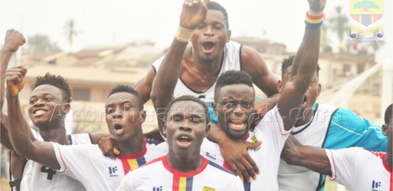 MTN FA Cup: Young Wise 0-1 Hearts of Oak- Hearts skew past sorry Wise side
