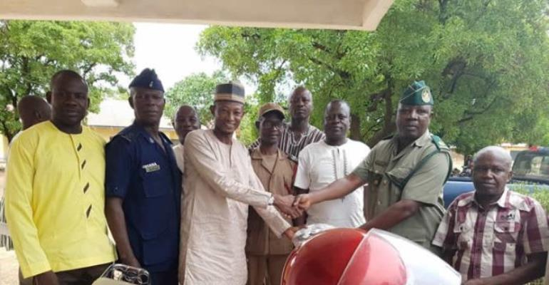 Sissala East MP donates to security services, others