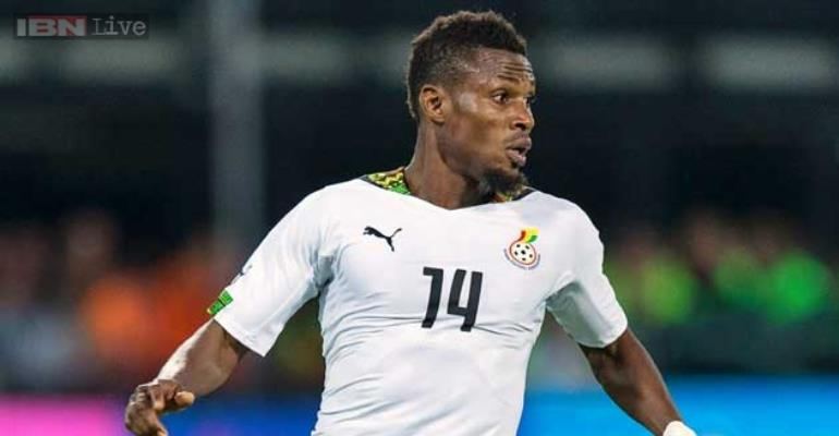 Jerry Akaminko grateful to Black Stars coach Kwasi Appiah for reviving international career