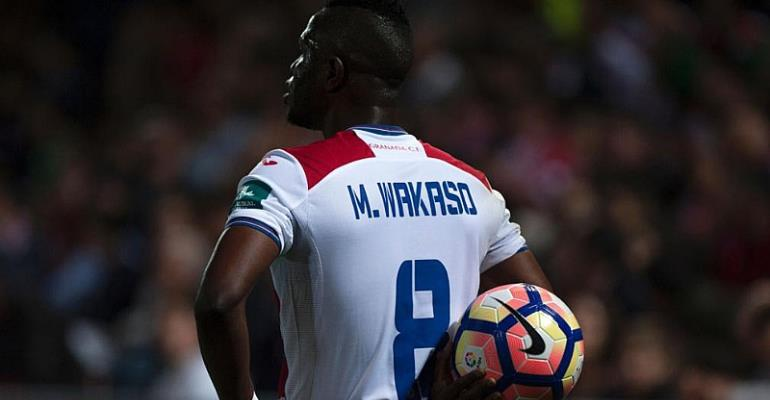 English side Reading rules out move for Ghana star Mubarak Wakaso