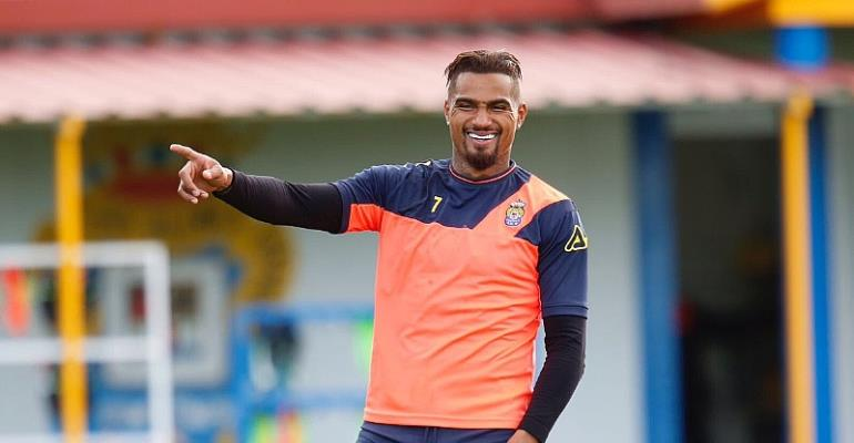 Las Palmas chief Miguel Ángel Ramírez admits signing Kevin Boateng has put the club on the world map