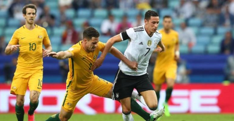 Germany make winning start to Confederations Cup against Australia