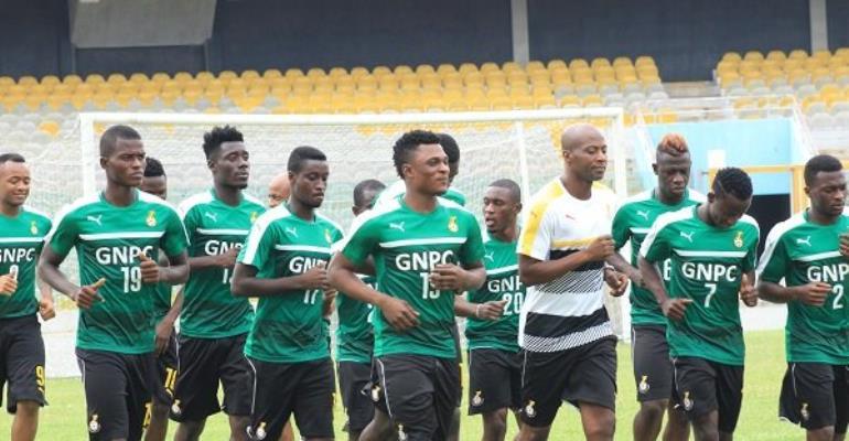 Black Stars resume training ahead of Mexico, USA friendlies