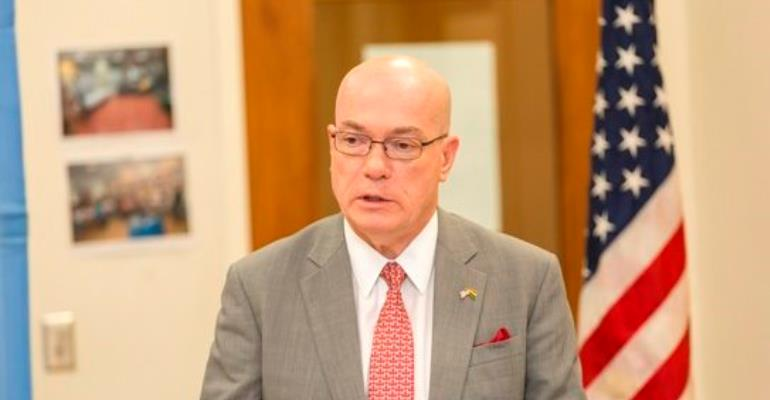 Robert P Jackson, US Ambassador To Ghana