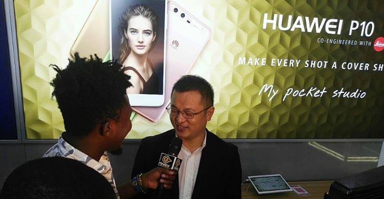 Huawei Unveils Ultra-Modern Experience Shop At Accra Mall