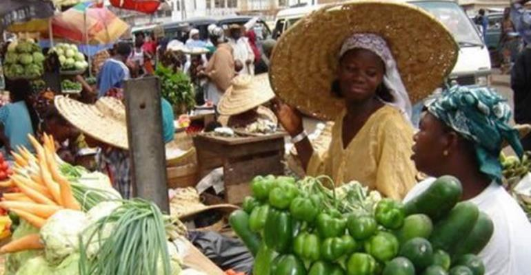 Some vegetable sellers