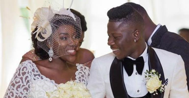 Stonebwoy and his wife