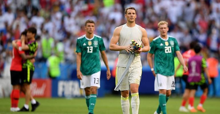2018 World Cup: Germany Knocked Out Of World Cup
