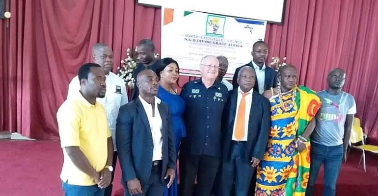 NGO Divine Grace Africa Out To Promote Peace And Sports