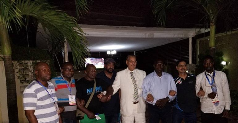 Osei Asibey Elected Unto Africa Armwrestling Board