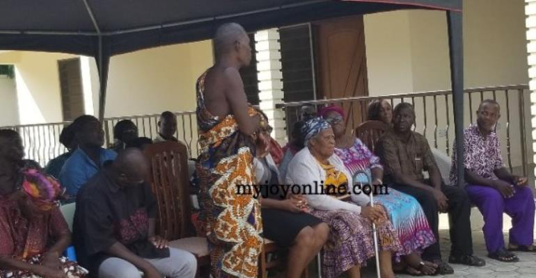 The Difficult Task Of Breaking A Sad News To Octogenarian Mother Of Amissah-Arthur