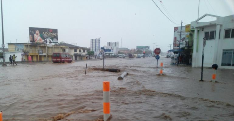 7 Killed In Kumasi Flood Waters