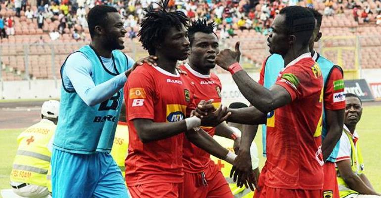 ZCPL: Asante Kotoko 2 - 1 Aduana Stars [VIDEO]