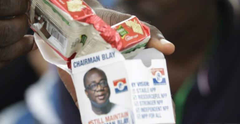 Branded Freddie Blay Biscuits Hit NPP Delegates Conference