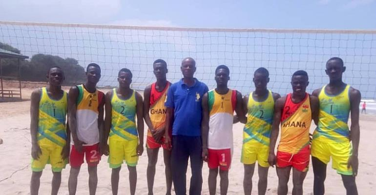 Ghana Beats Togo In Beach Volleyball Competition