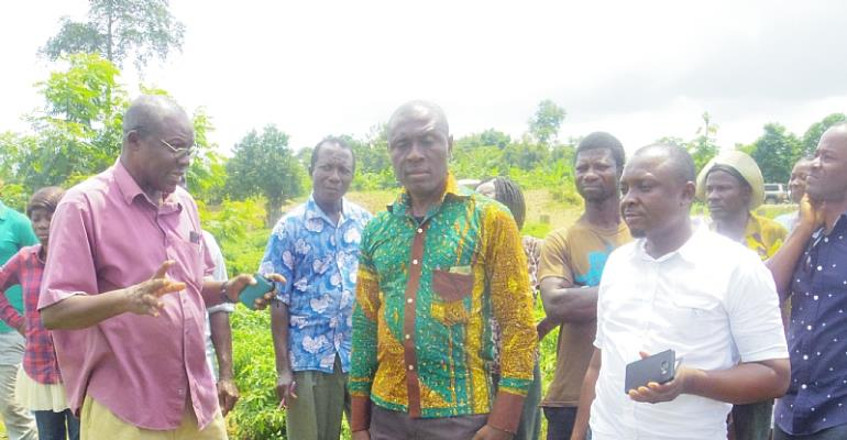 USAID/PPRSD Schooled Farmers On Cherry Pepper Farm Management