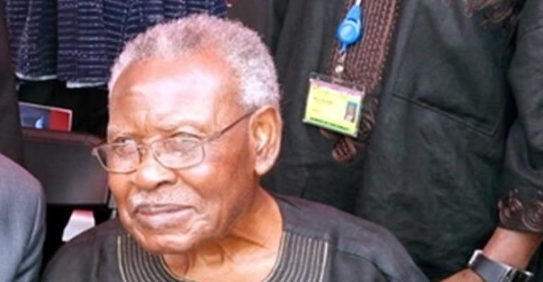 Former Senior Minister J.H Mensah Dead