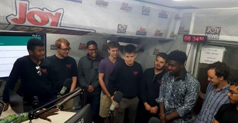 Watch: Yale's Whiffenpoof acappella group Sings On Joy Morning Show