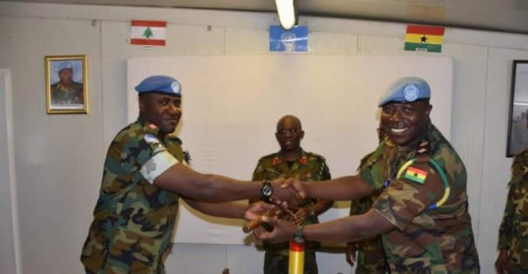 UNIFIL GHANBATT 85 Takes Over Command