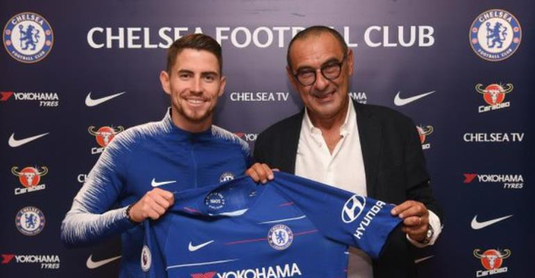 Chelsea Sign Jorginho From Napoli On Five-Year Deal