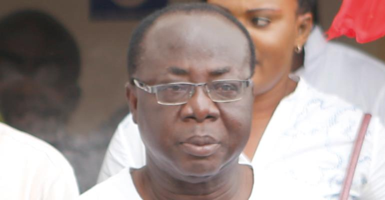 Freddie Blay, National Chairman of NPP