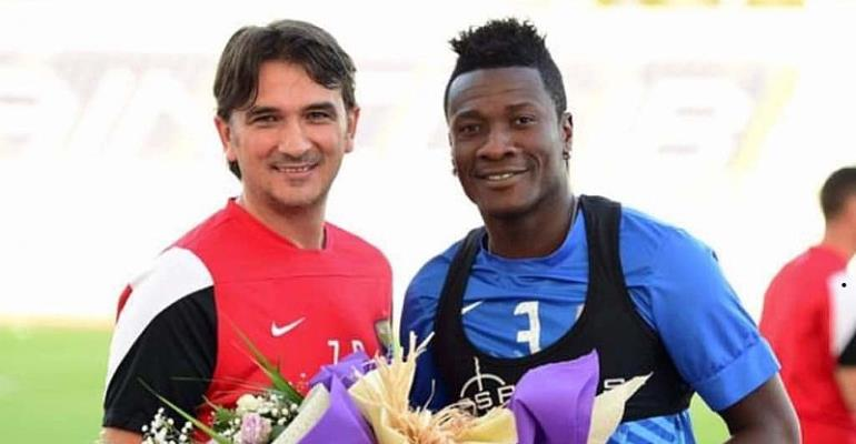 2018 World Cup: Asamoah Gyan Hails Former Al Ain Coach Zlatko Dalić For Impressive World Cup Performance