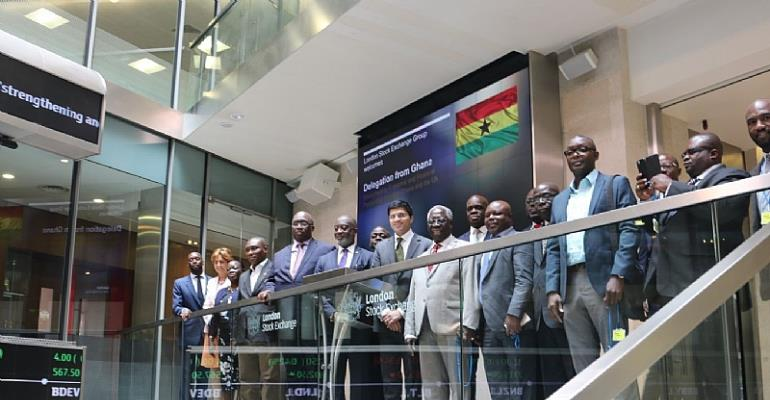 Government Delegation Led By UKGCC Meets London Stock Exchange