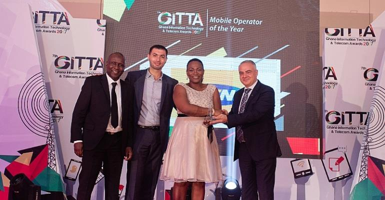 MTN Bags Highest Number Of Awards At The 2017 Ghana Information Technology and Telecoms Awards