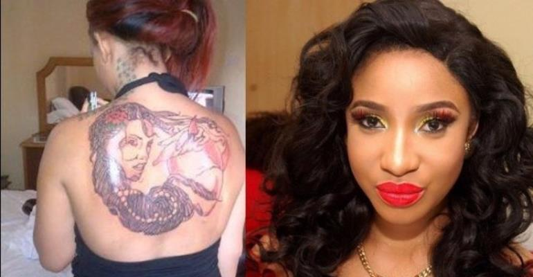I'm Born Again, Working On Cleaning My Tattoos – Tonto Dikeh