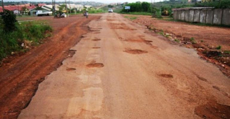 Infographic: Ghana's road infrastructure poor- Report