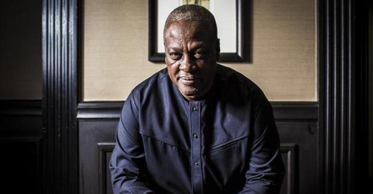 Ex-President John Mahama