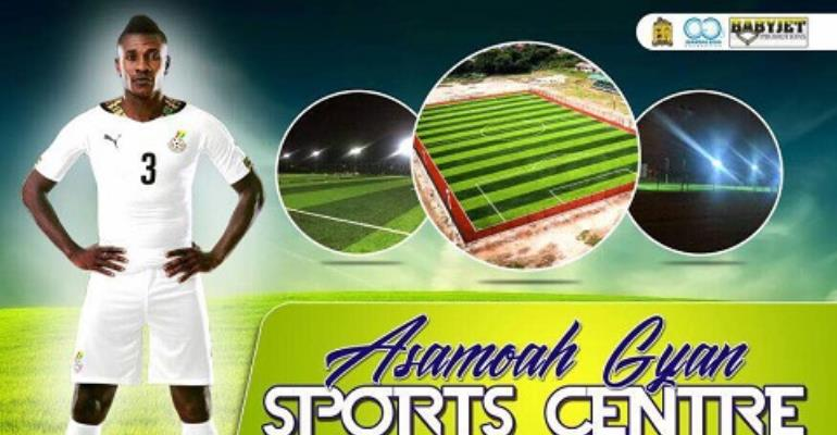 Dr. Asamoah Gyan To Officially Commission Accra Aca Sports Center