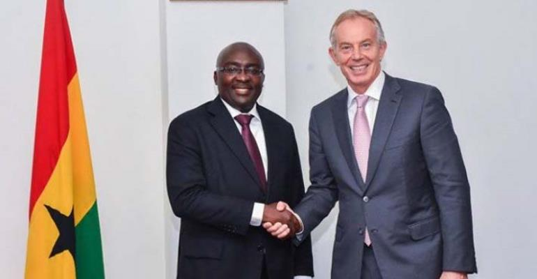 PHOTOS: Tony Blair Calls On Bawumia