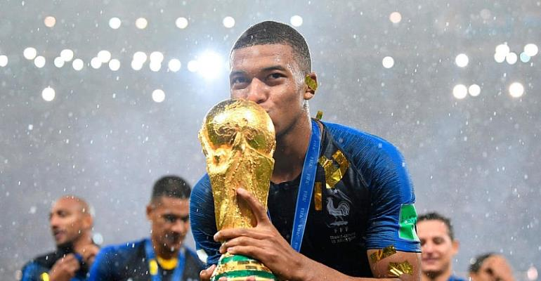 World Cup winner Mbappe donating bonus of about $350,000