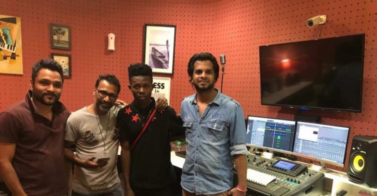 Photos: Strongman Hits Studio @ Dubai Visit
