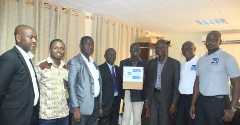 Sambus Geospatial Limited donates $500,000 worth of GIS Software To UENR